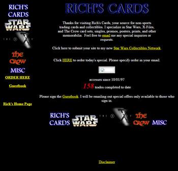 Rich's Cards Version 1.0 circa 1997